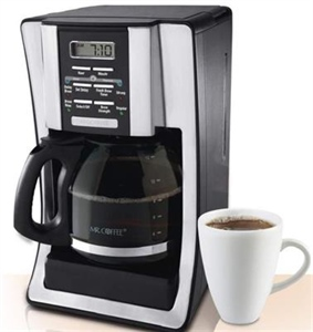 Giving a coffee maker a dual purpose