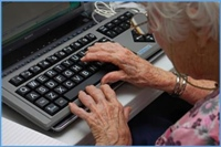 Complicating COVID stress: Technology gaps for seniors
