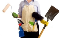 Cleaning can help with stress